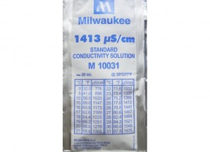 1413 µS/см Conductivity Calibration Solution (box of 25x20 мл sachet) Milwaukee